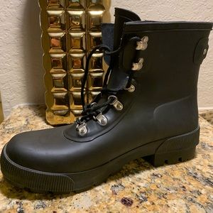 Hunter men commando boots